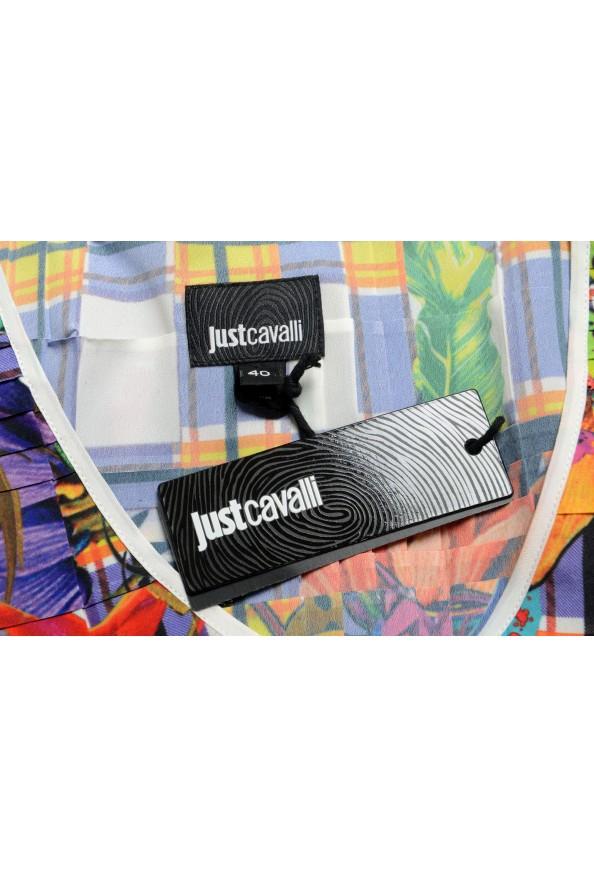 Just Cavalli Women's Multi-Color Pleated Sleeveless Sundress Dress : Picture 5
