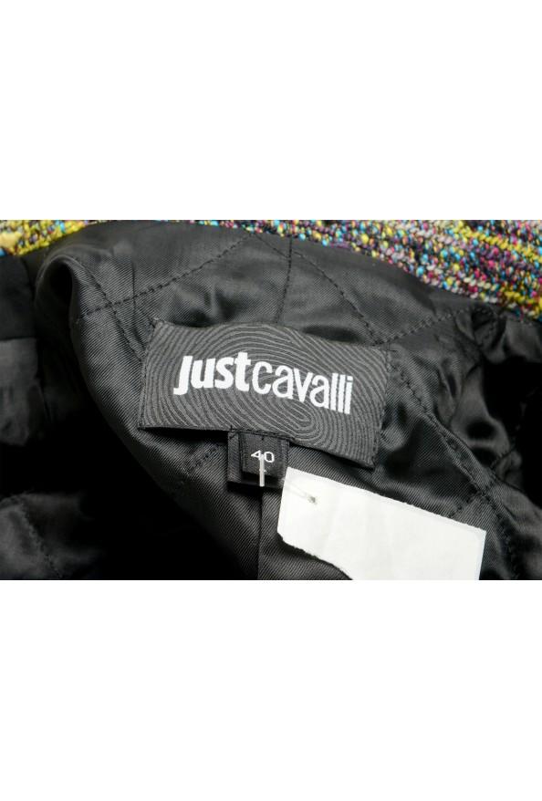 Just Cavalli Women's Multi-Color Wool Full Zip Jacket: Picture 5