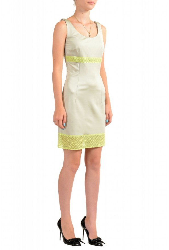Just Cavalli Women's Sleeveless Lace Trimmed Bodycon Dress: Picture 2