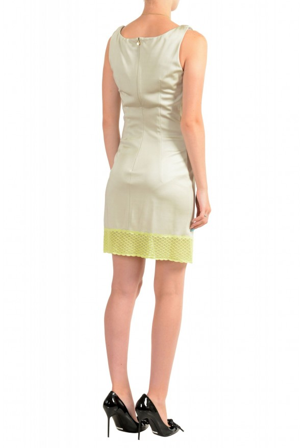 Just Cavalli Women's Sleeveless Lace Trimmed Bodycon Dress: Picture 3