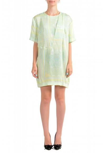 Just Cavalli Women's Multi-Color Short Sleeve Shift Dress