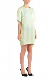 Just Cavalli Women's Multi-Color Short Sleeve Shift Dress: Picture 2