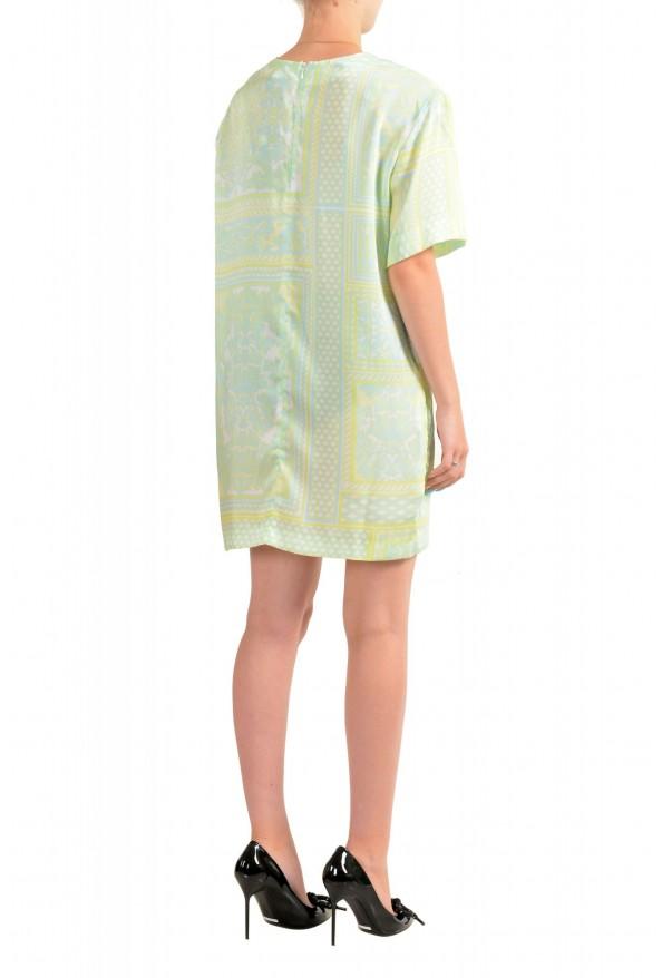 Just Cavalli Women's Multi-Color Short Sleeve Shift Dress: Picture 3
