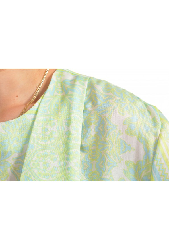 Just Cavalli Women's Multi-Color Short Sleeve Shift Dress: Picture 4