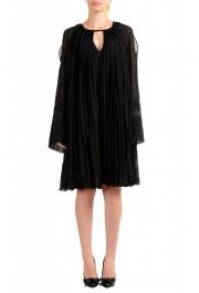 Just Cavalli Women's Black Pleated Dress