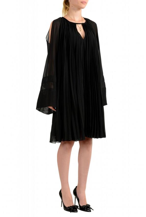 Just Cavalli Women's Black Pleated Dress: Picture 2