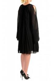 Just Cavalli Women's Black Pleated Dress: Picture 3
