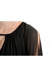 Just Cavalli Women's Black Pleated Dress: Picture 4