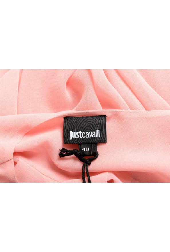 Just Cavalli Women's Pink See Through Blouse Top : Picture 5