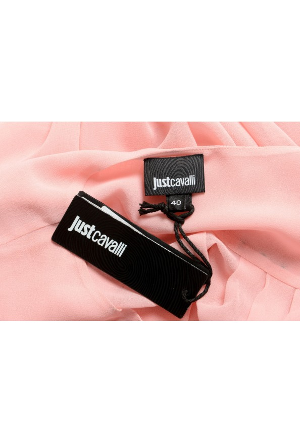 Just Cavalli Women's Pink See Through Blouse Top : Picture 6