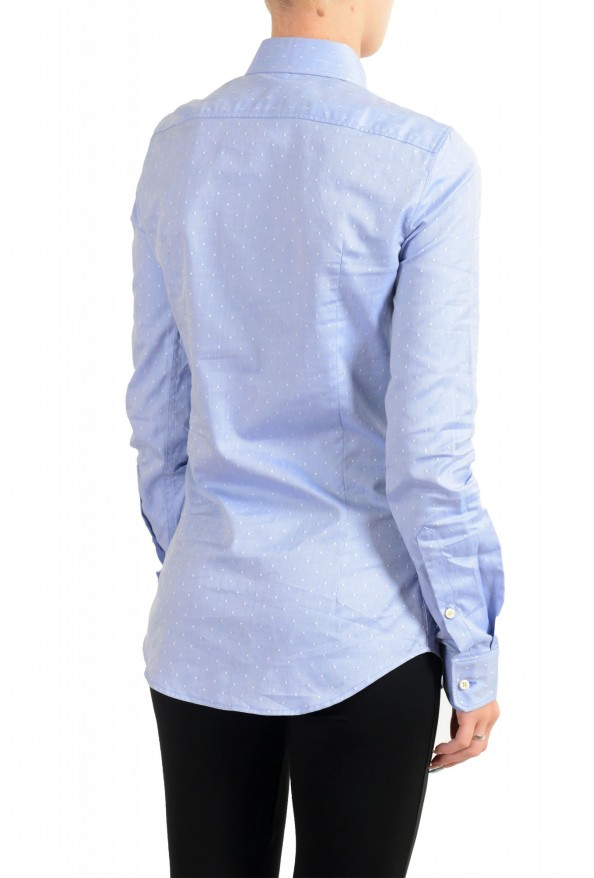 Dsquared2 Women's Blue Long Sleeve Button Down Shirt Top : Picture 3