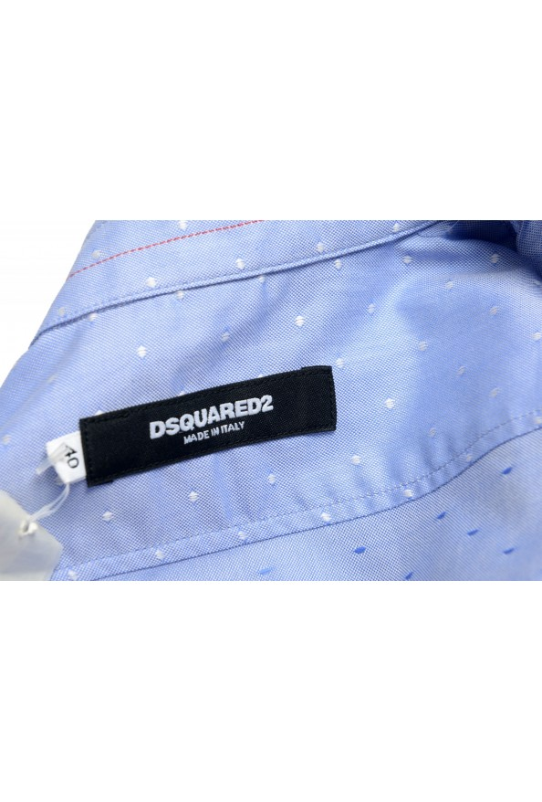 Dsquared2 Women's Blue Long Sleeve Button Down Shirt Top : Picture 5