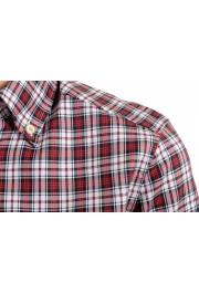 Dsquared2 Women's Plaid Multi-Color Short Sleeve Button Down Shirt : Picture 4