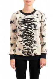 Just Cavalli Women's Embellished Pullover Sweatshirt Sweater