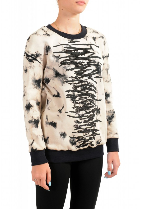 Just Cavalli Women's Embellished Pullover Sweatshirt Sweater : Picture 2