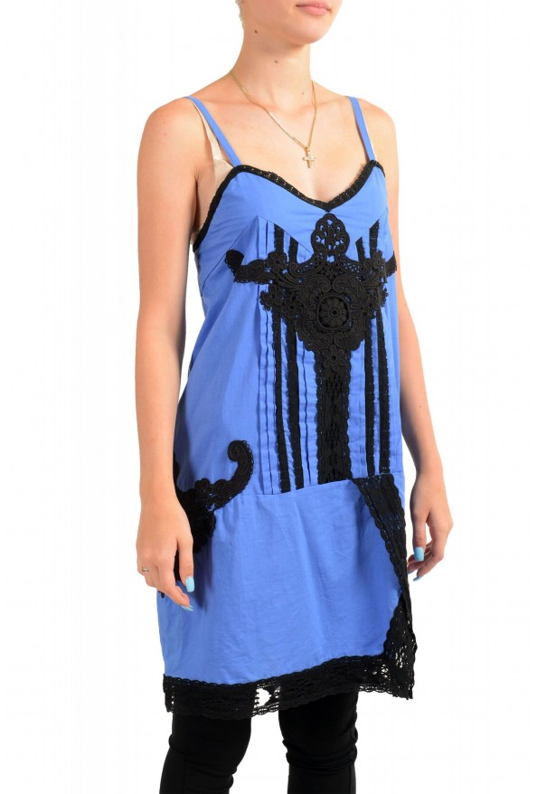 Just Cavalli Women's Sleeveless Lace Trimmed Sundress Dress : Picture 2