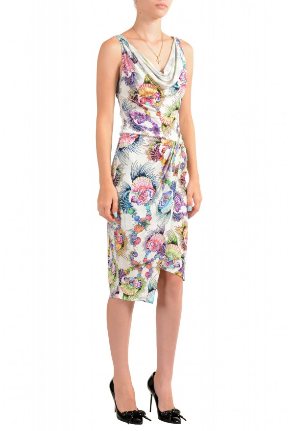 Just Cavalli Women's Sleeveless Multi-Color Sundress Dress: Picture 2