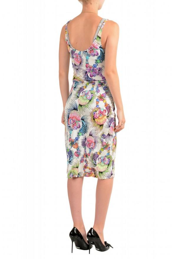 Just Cavalli Women's Sleeveless Multi-Color Sundress Dress: Picture 3