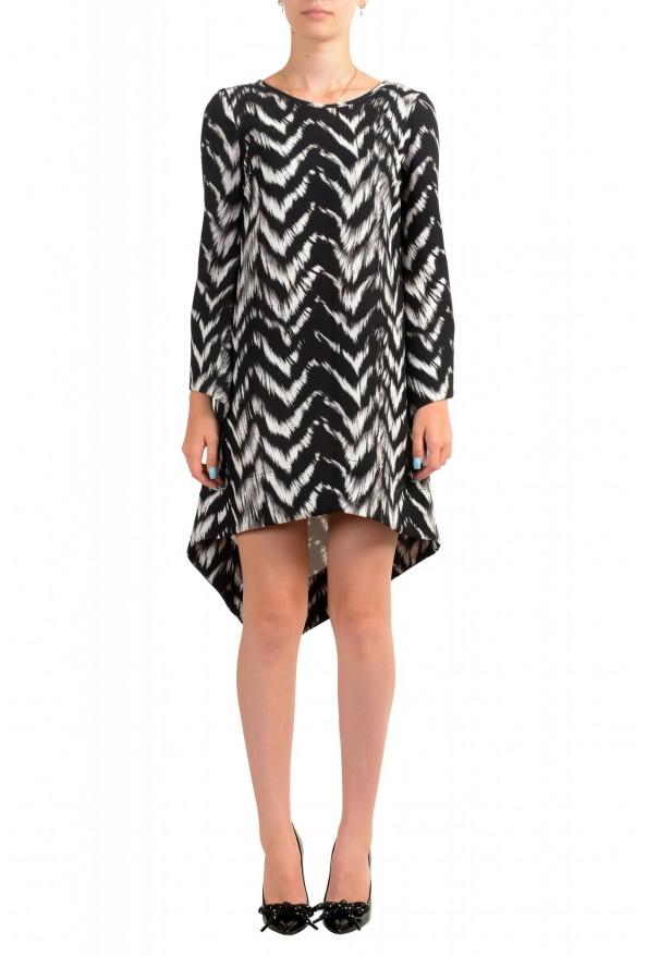 Just Cavalli Women's Multi-Color Asymmetrical Shift Dress
