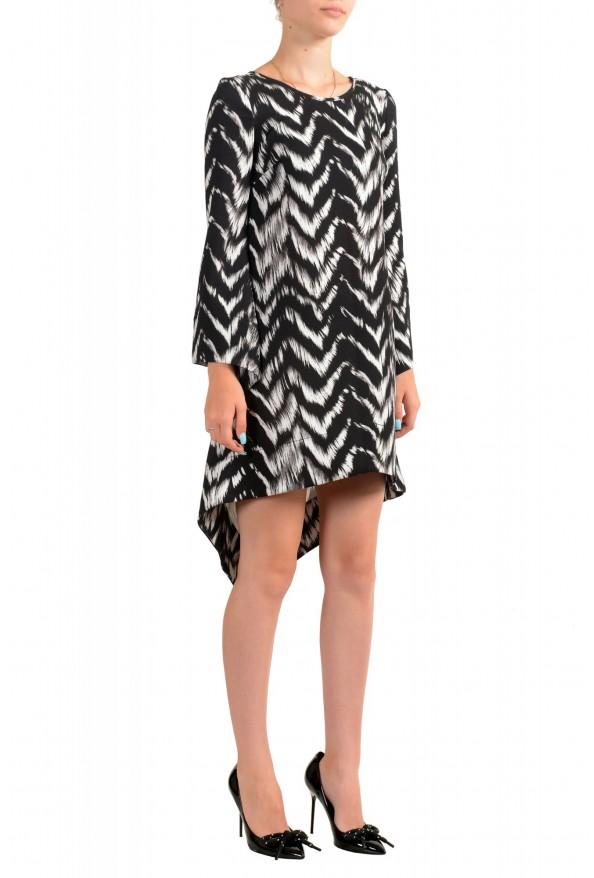 Just Cavalli Women's Multi-Color Asymmetrical Shift Dress: Picture 2