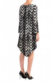 Just Cavalli Women's Multi-Color Asymmetrical Shift Dress: Picture 3