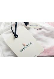 Moncler Women's Multi-Color Floral Print Cropped T-Shirt Top: Picture 6