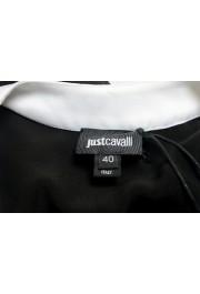 Just Cavalli Women's Black 100% Silk Blouse Tunic Top : Picture 5