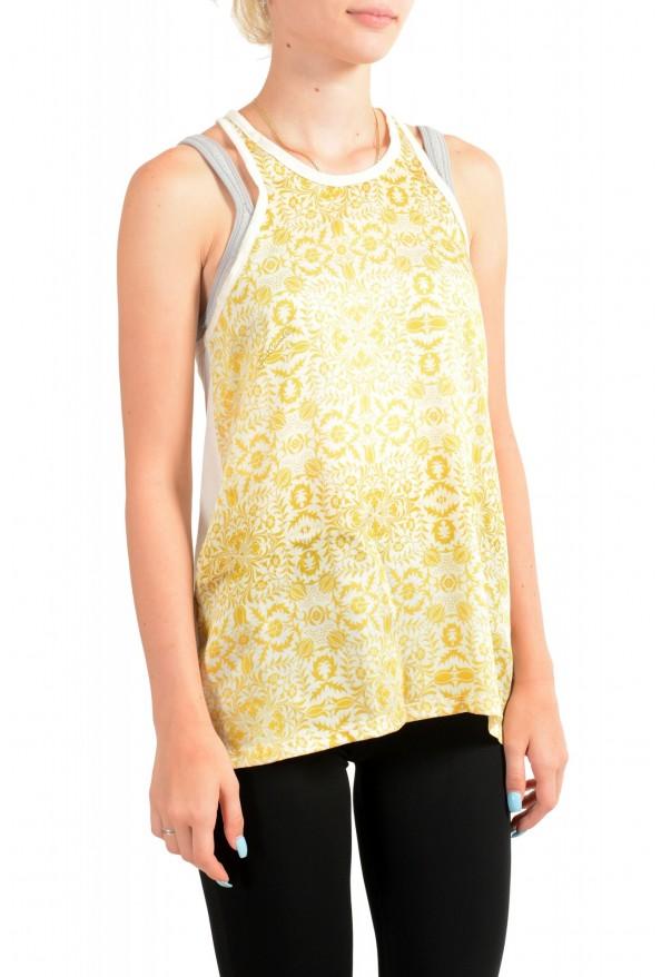 Just Cavalli Women's Multi-Color Tank Top Blouse : Picture 2