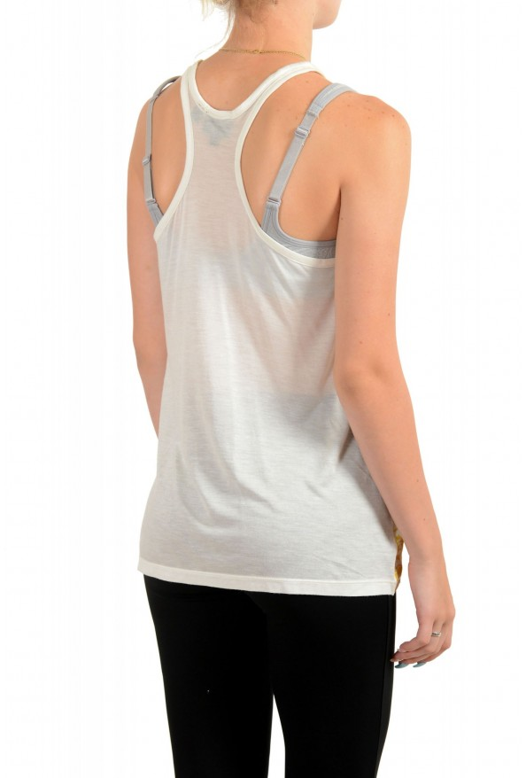 Just Cavalli Women's Multi-Color Tank Top Blouse : Picture 3
