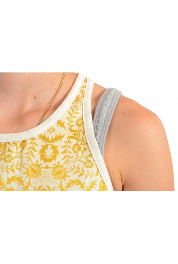 Just Cavalli Women's Multi-Color Tank Top Blouse : Picture 4