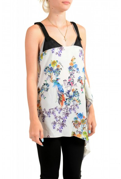 Just Cavalli Women's Asymmetrical Sleeveless Blouse Tunic Top : Picture 2
