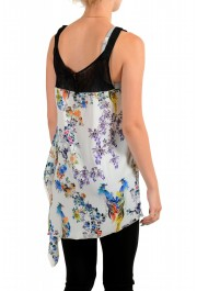 Just Cavalli Women's Asymmetrical Sleeveless Blouse Tunic Top : Picture 3
