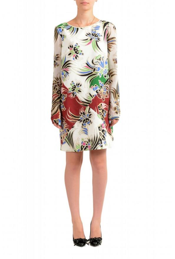 Just Cavalli Women's Multi-Color Shift Crewneck Dress