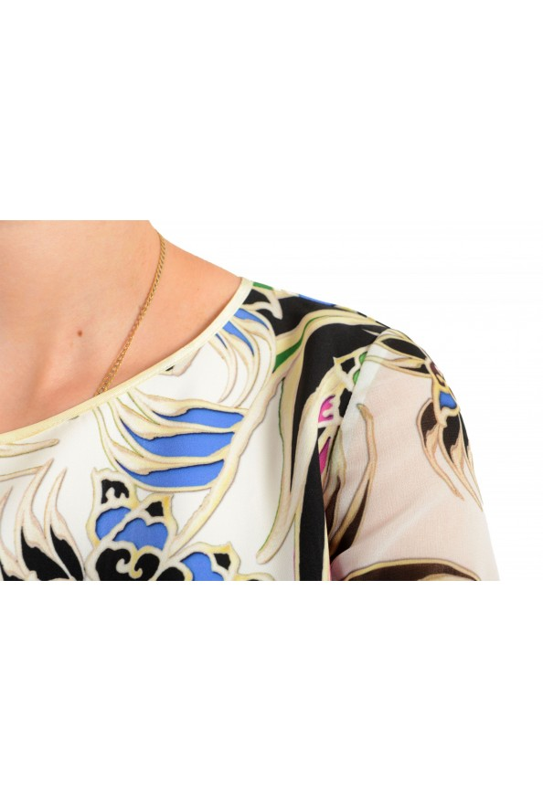 Just Cavalli Women's Multi-Color Shift Crewneck Dress : Picture 4