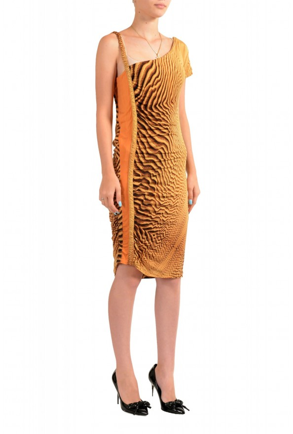 Just Cavalli Women's Multi-Color Bodycon Asymmetrical Dress : Picture 2
