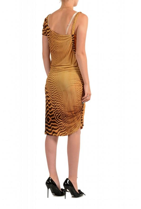 Just Cavalli Women's Multi-Color Bodycon Asymmetrical Dress : Picture 3