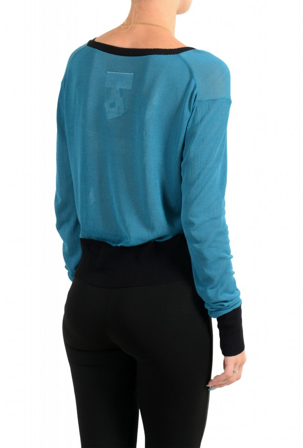Maison Margiela MM6 Women's Long Sleeve Boatneck Sweater : Picture 3