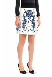 Just Cavalli Women's Multi-Color Stretch A-Line Mini Skirt : Picture 2