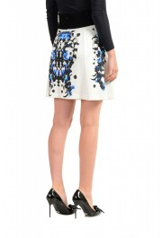 Just Cavalli Women's Multi-Color Stretch A-Line Mini Skirt : Picture 3