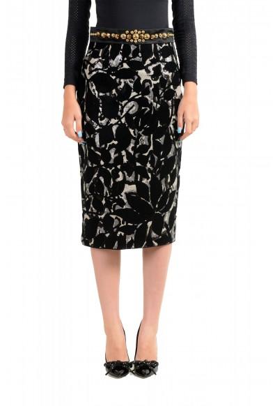 Just Cavalli Women's Sequin Embellished Pencil Skirt