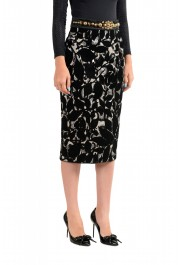 Just Cavalli Women's Sequin Embellished Pencil Skirt : Picture 2
