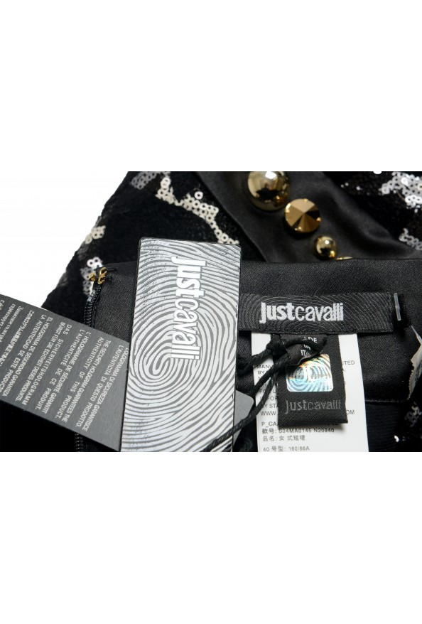 Just Cavalli Women's Sequin Embellished Pencil Skirt : Picture 6