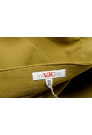 Versace VJC Women's Olive Green Mini A-Line Skirt: Picture 4