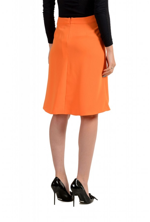 Versace Collection Women's Orange A-Line Skirt : Picture 2