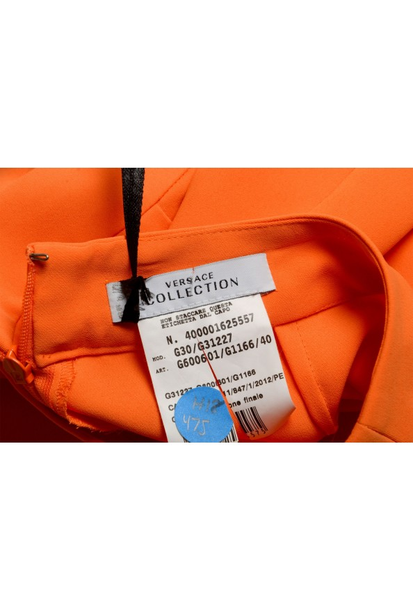 Versace Collection Women's Orange A-Line Skirt : Picture 3
