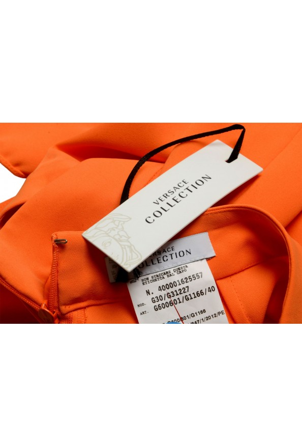 Versace Collection Women's Orange A-Line Skirt : Picture 4