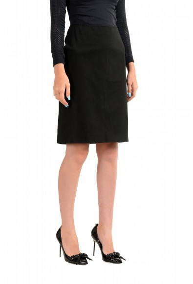 Versace Jeans Couture Women's Black Pencil Skirt: Picture 2