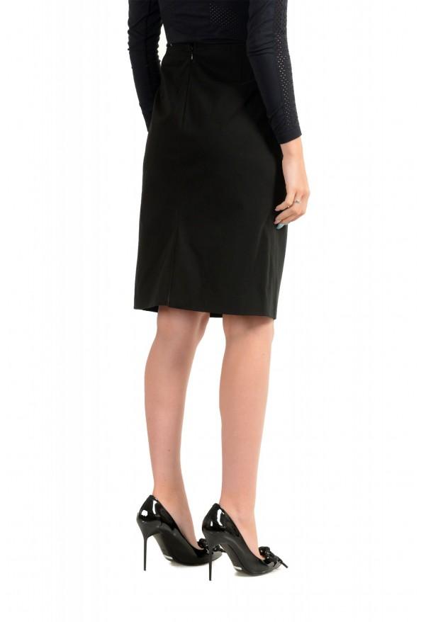 Versace Jeans Couture Women's Black Pencil Skirt: Picture 3