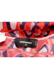 Dsquared2 Women's 100% Silk Multi-Color Sleeveless Blouse Top: Picture 5