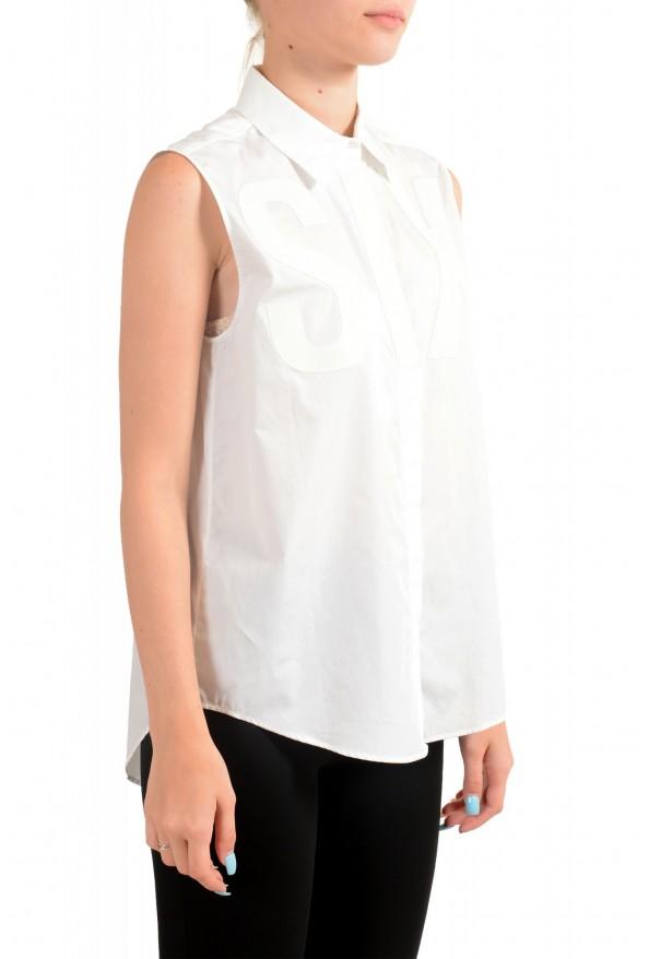 Maison Margiela MM6 Women's White Button Down Shirt: Picture 2